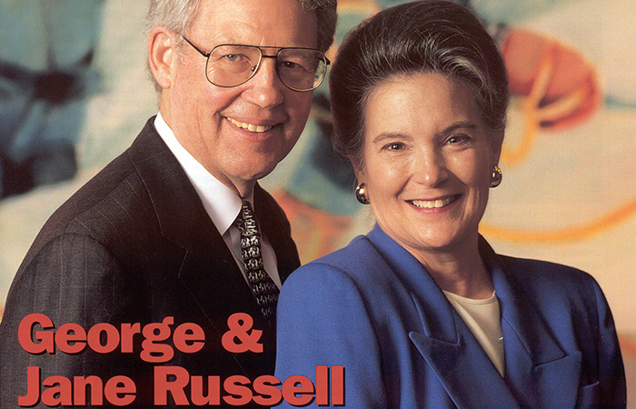 Heart & Soul Magazine Cover - Jane & George Russell