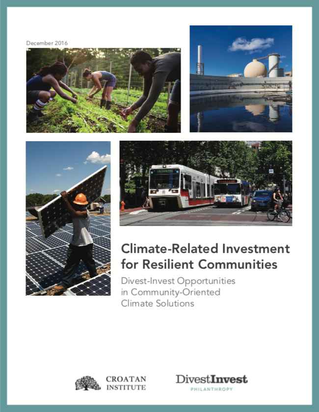 Investing in Community-Oriented Climate Solutions cover image