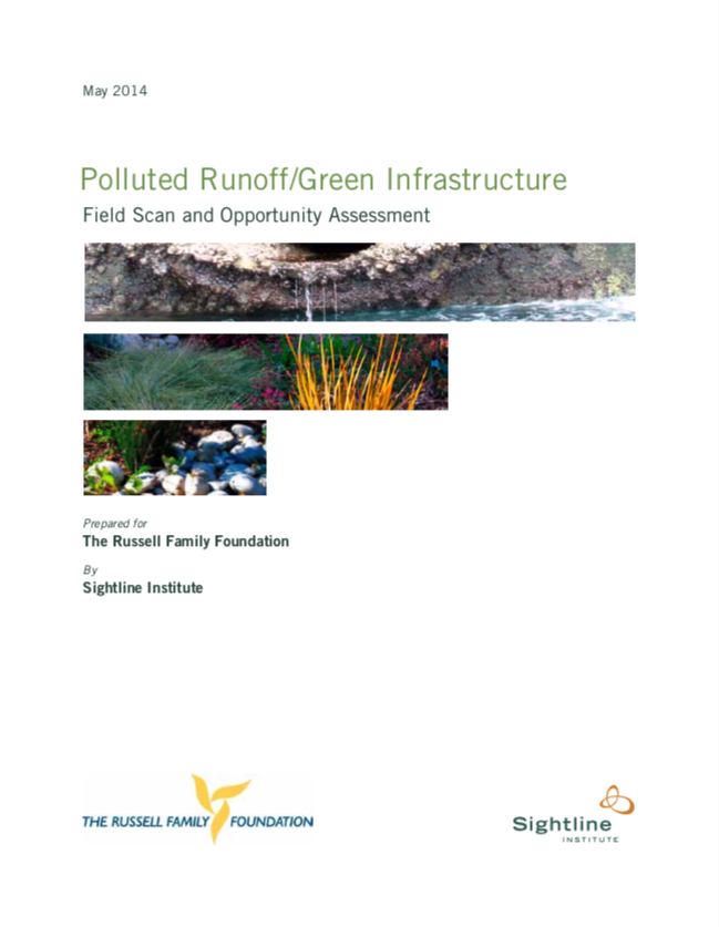 Report: Puget Sound Stormwater cover image